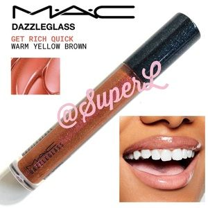 2/$25 MAC Cosmetics Lipglass Lip Gloss Get Rich